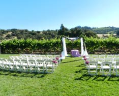 wedding venue Sonoma, CA